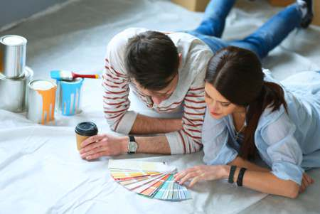 couple on home staging
